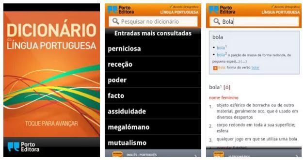 Aplicativo Dicionário Língua Portuguesa