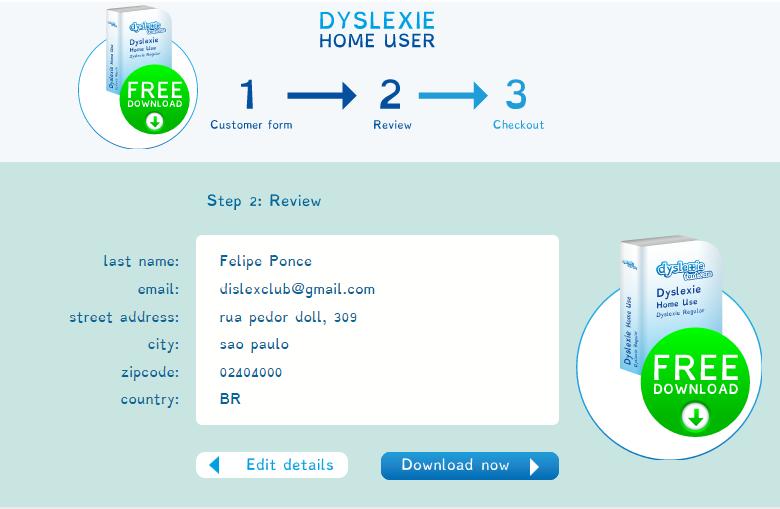instalar letra da dislexia