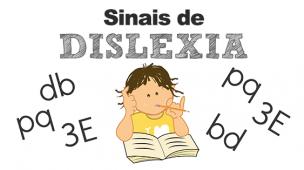 sinais de dislexia